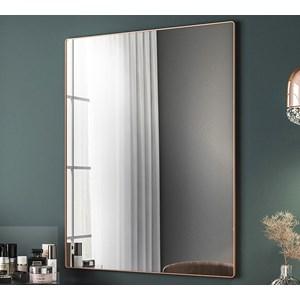 Espelho Decorativo Com Moldura Class Cobre Rose Milani Store