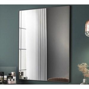 Espelho Decorativo Com Moldura Preto Class Milani Store