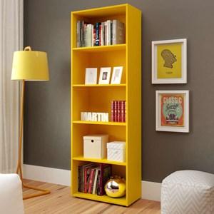 Estante Para Livros Multy Amarelo Artely