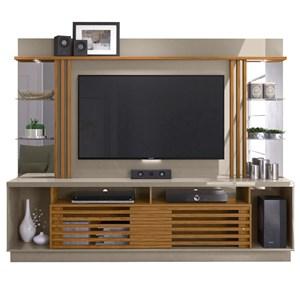 Home Theater Para TV 55 Polegadas Frizz Gold Fendi Naturale Madetec
