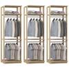 Kit 03 Modulos Para Closet Clothes 1005 Carvalho Mel Be Mobiliario