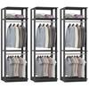 Kit 03 Modulos Para Closet Clothes 1005 Espresso Be Mobiliario