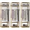 Kit 03 Modulos Para Closet Clothes 1008 Carvalho Mel Be Mobiliario