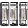 Kit 03 Modulos Para Closet Clothes 1008 Espresso Be Mobiliario