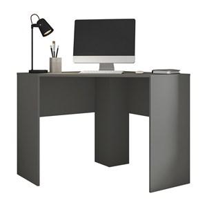 Mesa De Canto Para Computador Cubic Chumbo Caemmun