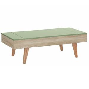 Mesa De Centro Leaves 1002 Aveiro Verde Com Tampo Basculante Be Mobiliario