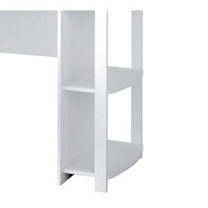Mesa Escrivaninha De Canto Luma Branco Artany