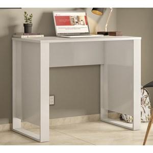 Mesa Escrivaninha Para Computador Office Morada 29500 Branco Demobile