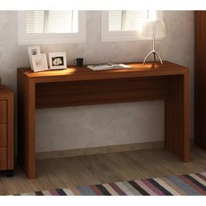 Mesa Escrivaninha Para Escritorio ME4135 Amendoa Tecno Mobili