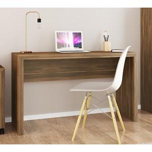 Mesa Escrivaninha Para Escritorio ME4135 Nogal Tecno Mobili