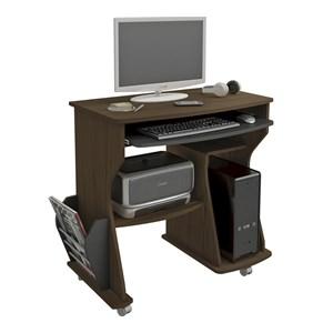 Mesa Para Computador 160 Amendoa Preto Artely