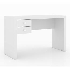 Mesa Para Escritorio ME-4123 Branco Tecno Mobili