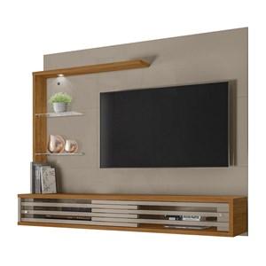 Painel Bancada Para TV 50 Polegadas Frizz Select Fendi Naturale Madetec